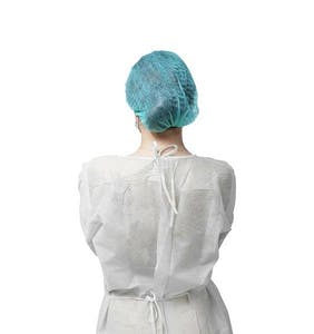 isolation gowns - PPE - backside