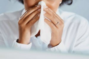 congestion of nasal passages
