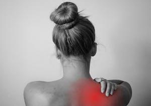 back pain shoulder injury